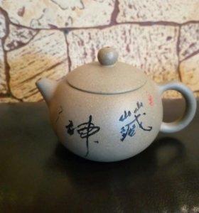 Чайник из исинской глины 180 мл.