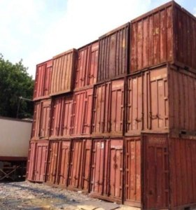 Контейнер 5 тонн. Морские контейнеры.