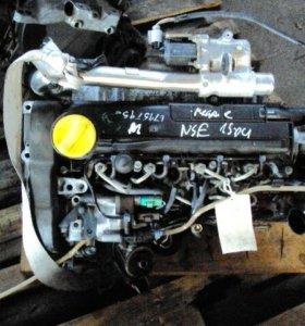 Двигатель Clio Kangoo Megane Scenic 1.5 DCI 05R