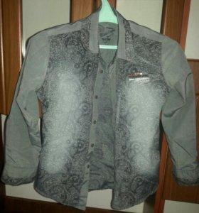 Классные рубашки на мальчика 10-12 лет