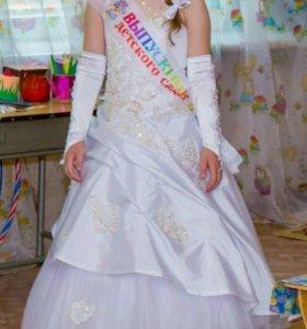 Платье на выпускной 6-8 лет