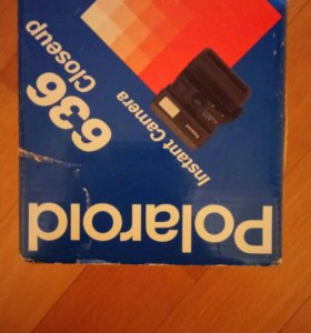 Polaroid 636 Close Up фотоаппарат продам срочно