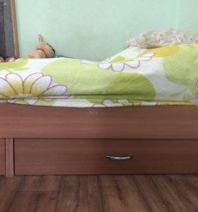 Кровать 2м*83см