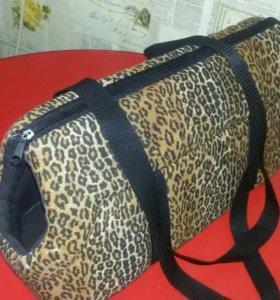 сумка переноска для кошек и собак мелких пород
