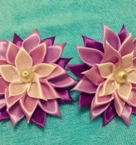 Заколки-цветочки