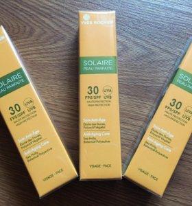 Солнцезащитный крем для лица Yves Rocher