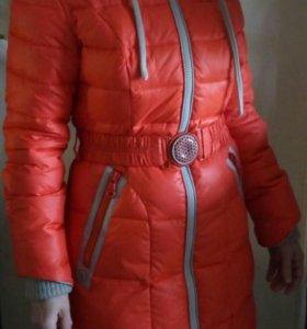 Пальто женское зимнее (пуховик)