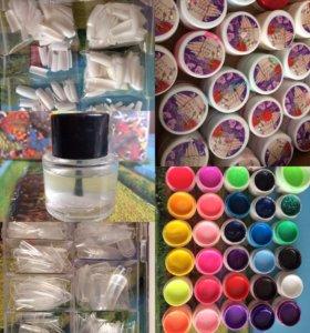 Цветные гели для наращивания
