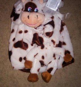 Рюкзак корова.Новый