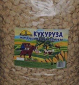 Кукурузный корм для домашних животных