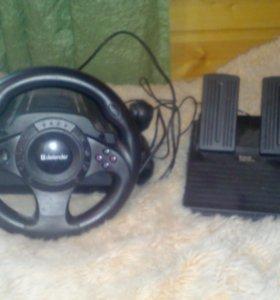Руль с пидалями  для Sony Playstation 2