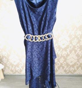 Гипюровое платье, р-р 42