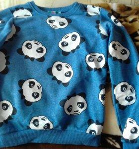 Кофта с пандами