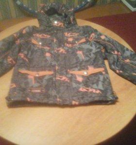 Куртка деми для мальчика рост 122