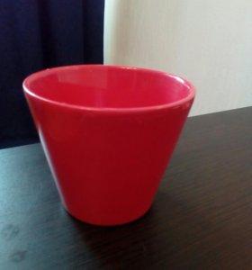 Цветочный горшок (керамика)