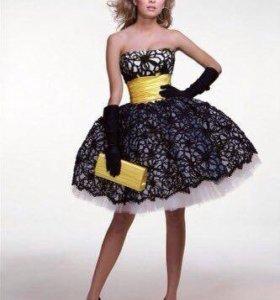 Дизайнерское вечернее платье. Торг