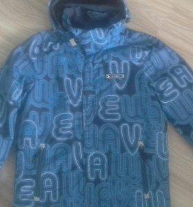 Куртка для мальчика (ветровка с подстежкой  кофта)
