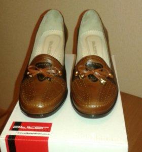 Туфли женские кожаные, 36 размер