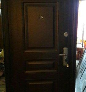Двери входные металлическая