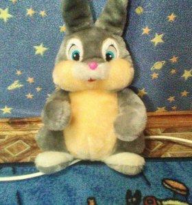 Мягко - пушистый заяц