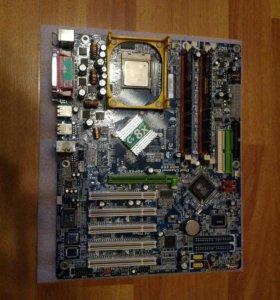 Проц, память, плата Gigabyte GA-8S655FX