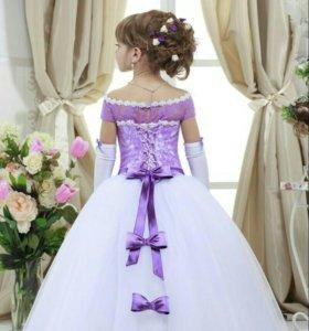Красивое,пышное платье для девочки