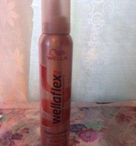 Мусс для волос wellaflex
