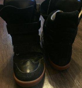 Модные ботинки-сникерсы, 37 размер