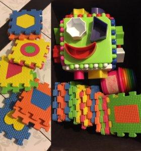 Пакет игрушек 0+