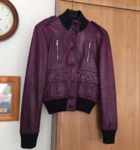 кожаная куртка gucci Madonna как новая (оригинал)