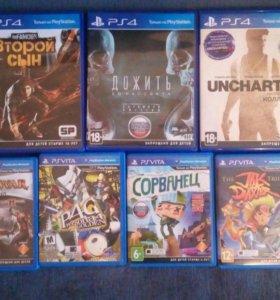 Игры для PS 4 и PS Vita