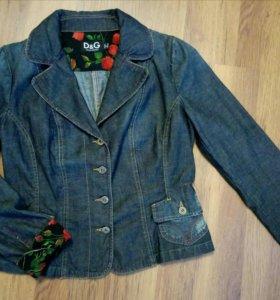 Джинсовый пиджак (жакет) DOLCE GABBANA