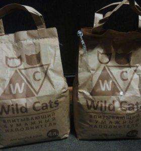 Наполнитель wild cats 4л