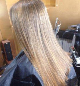 Окрашивание 💁🏼тонирование волос