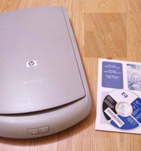 Сканер HP Scanjet 2300c (неисправный, на запчасти)