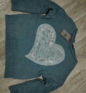 Крутой свитер НОВЫЙ