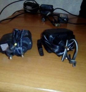 Зарядки и подключители