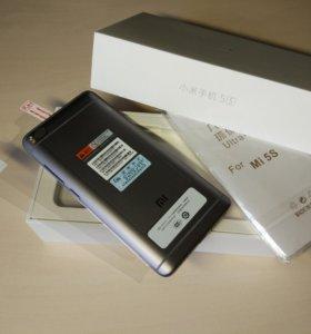 Xiaomi Mi5s (Mi 5s) новый + стекло чехол
