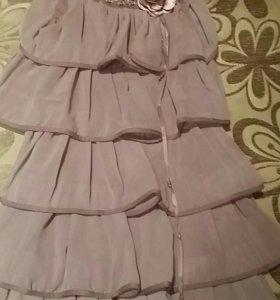 Платье для девочки. Рост 122