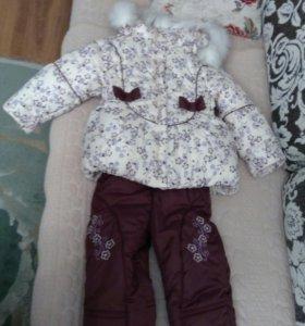 костюм зимний новый