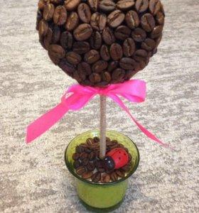 Кофейное дерево - Топиарий