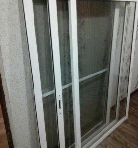 Балконая рама б/у