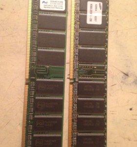 Оперативная память на 512 мб