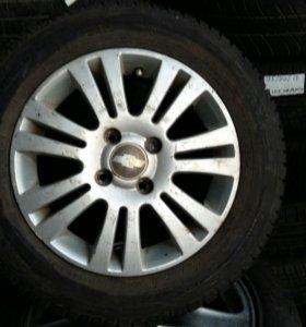 Запаска на Chevrolet Lacetti