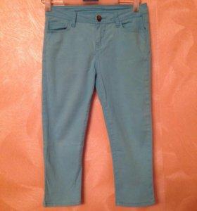 Бриджи джинсовые(стрейч)