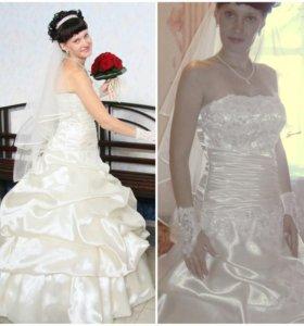 Свадебное платье(счастливое)