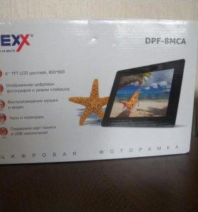 Цифровая фоторамка Nexx DPF-8MCA (черная)