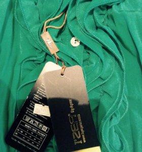Жатая блуз-рубашечка(новая)