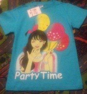 Новая футболка.В наличии на 8, 9, 10, 11, 12 лет