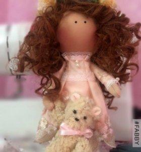 Интерьерная кукла Кристина